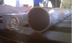 "Picture of Aluminum Round Tubing - 1.5"" OD x 1/16"" x 48"", Other lengths, 4 ft 2 ft, 48 in 24 in, 1 1/2 in, USA! New"