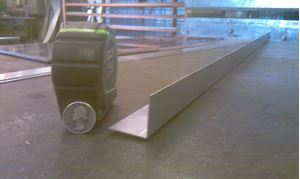 Picture of Aluminum Angle 1 1/4 x 1 1/4 x 48 in, 1/16 in thick,.1.25 IN, 4 ft, 2 ft, New, USA!