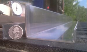 Picture of Aluminum C-Channel Offset 2 3/4 x 3 1/2 x 3/4 x 48 in, 1/8 in thick,.1.5IN, 3.5IN, 4 ft, New, USA!