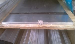 Picture of Aluminum Flat 12 x 48 in, 1/16 in thick,4 ft, New, USA!