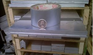 Picture of Aluminum Flat 8 x 48 in, 1/16 in thick,4 ft, New, USA!