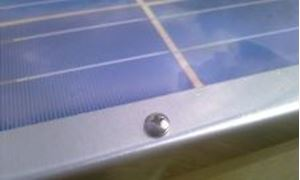 Picture of Solar Panel Frame, DIY, 3x6, 6x6, tabbed cells, Frames, Shock Absorbing LD