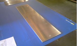 Picture of Aluminum Flat 12 x 48 in, 1/4 in thick,. 4 ft, 3ft, 2 ft, 1 ft, New, USA!