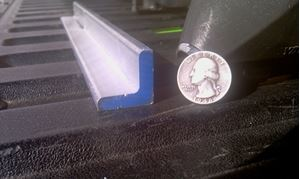 Picture of Aluminum Structural Angle 1 x 1 x 1/4 x 48 in